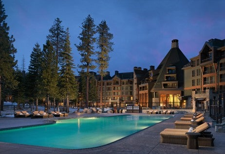 Pool Ritz-Carlton Lake Tahoe_