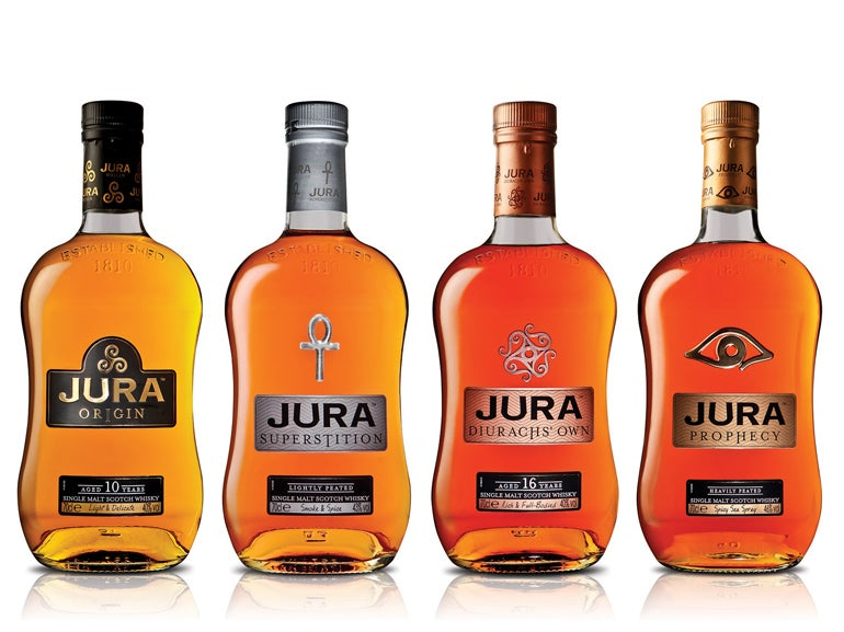 Jura S Bewitching Single Malts Elite Traveler