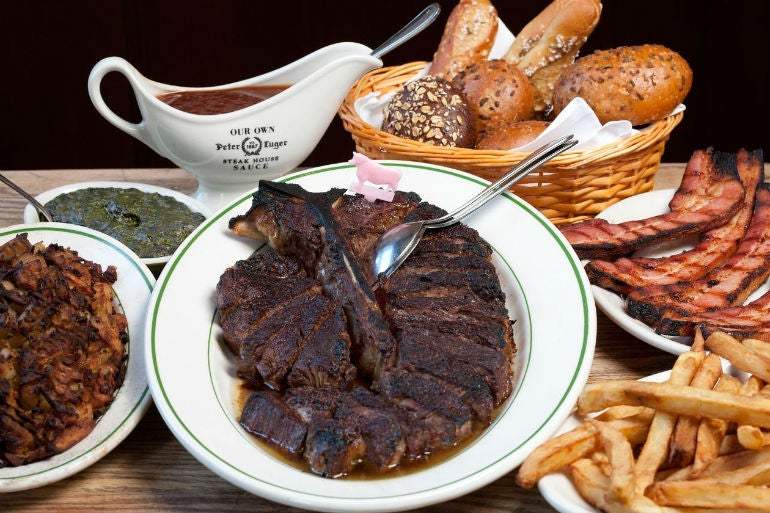 peter luger steakhouse new york - best steak in the world