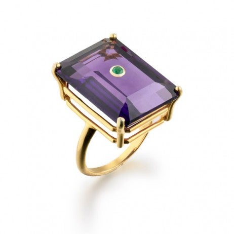 Madyha Farooqui NoLita cocktail ring