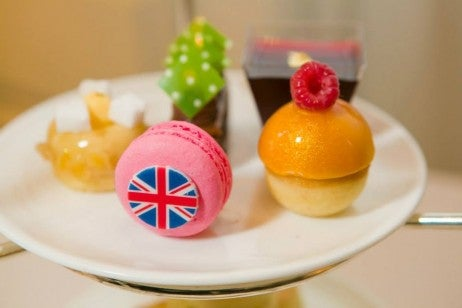 langham london british airways menu