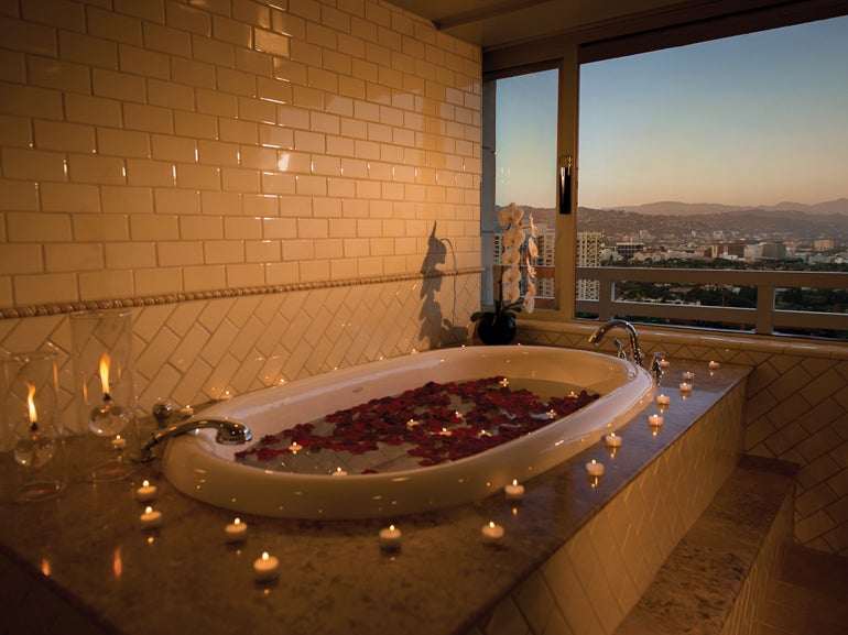 intercontinental los angeles unveils all new royal suite
