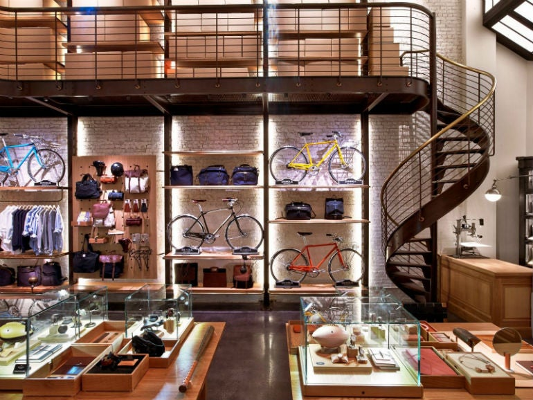 Shinola opens shop in new york elite traveler for Bmx store