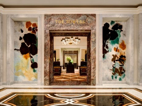 The Towers lobby