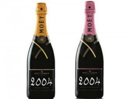 Grand Vintage 2004 Brut and Rosé / Moët & Chandon