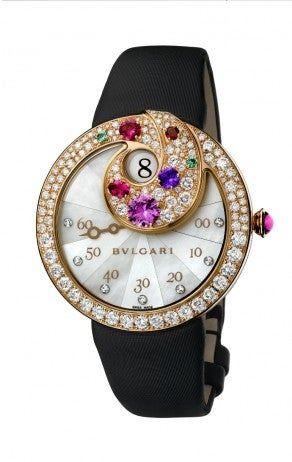 Bulgari Jumping Hour Retrograde Minutes Watch