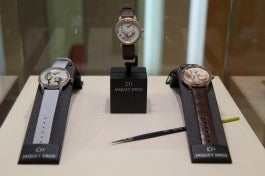 JAQUET DROZ timepieces