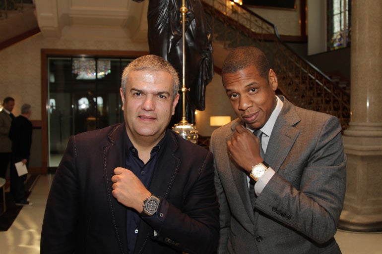 Jay Z at Hublot partnership launch