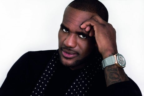 LeBron James' limited watch only 600 available