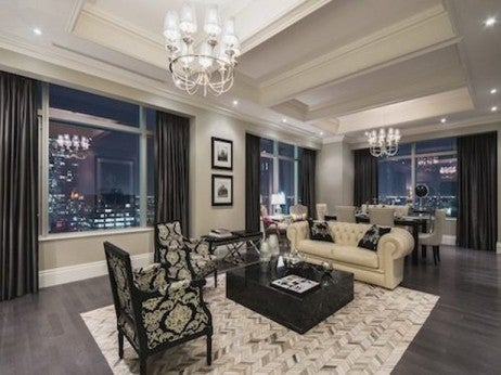 Living Area / The Presidential Suite (Suite 3501)