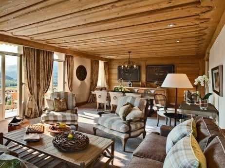 Newly Renovated Suite / Gstaad Palace
