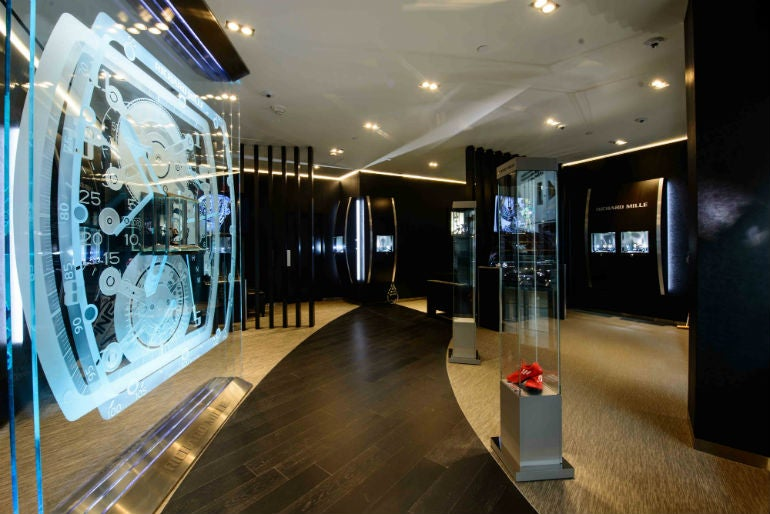 Richard Mille Opens Boutique At Las Vegas Most Exclusive