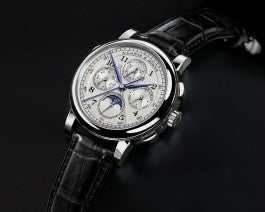 A. Lange & Sohne 1815 Rattrapante Perpetual Calendar watch