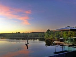 Dawn at Crystalbrook Lodge