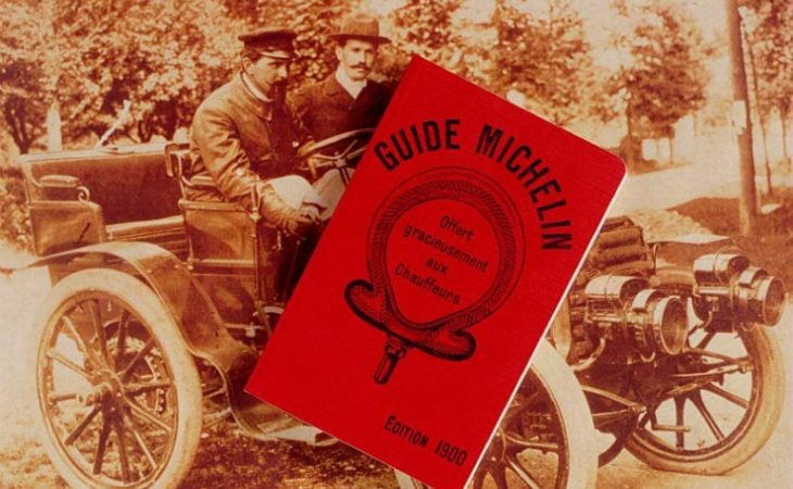 First ever Michelin Guide