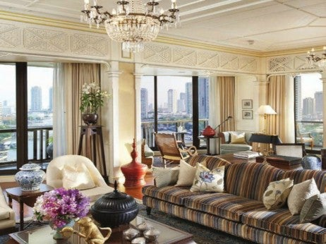 Living Room / The Royal Oriental Suite