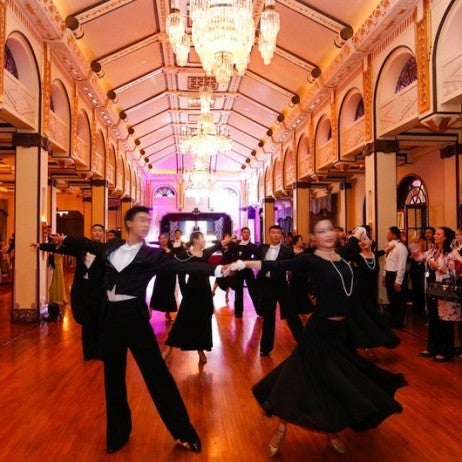 Peace Charity Ball at Fairmont Peace Hotel