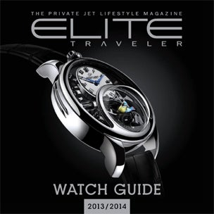 Elite Traveler Watch Guide 2014