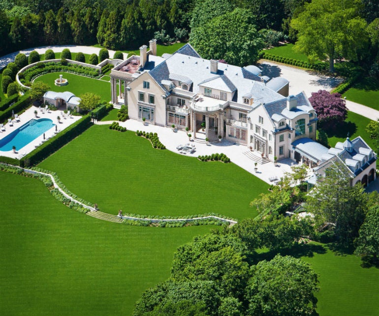 Most expensive homes in america elite traveler for Largest homes in america