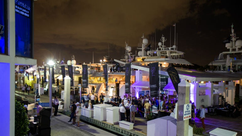 The Fort Lauderdale International Boat Show The Bubbles