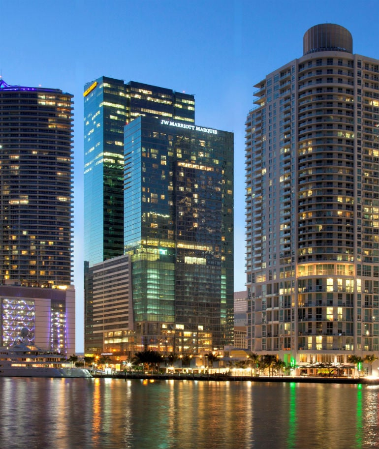 JW Marriott Marquis Miami To Transform Into Art Haven For