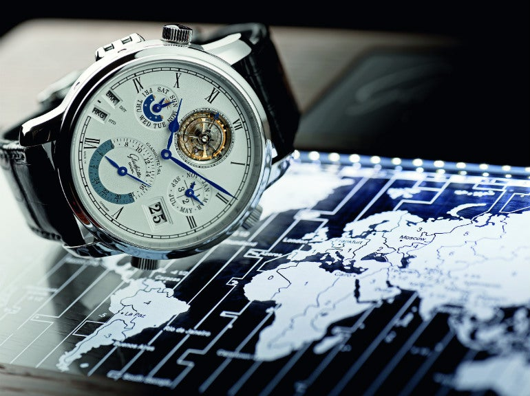Glashutte Original Grande Cosmpolite Tourbillon has 37 time zones