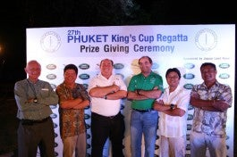 Land Rover at Phuket King's Cup
