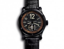 Black Safari Collection with Flying Tourbillon