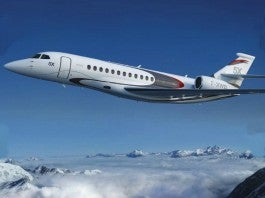 In Flight / Dassault Falcon 5x