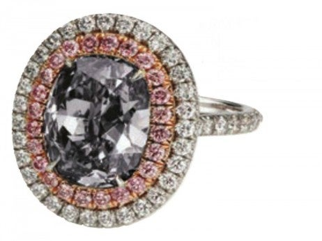 Gray Diamond Ring / The One And Only One Collection