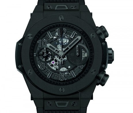 The Big Bang Unico All Black feature