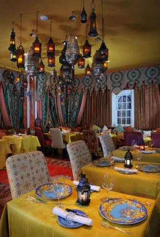 Moroccan Dining Room_