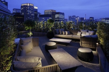 Palace Hotel Tokyo - Club Lounge - Terrace