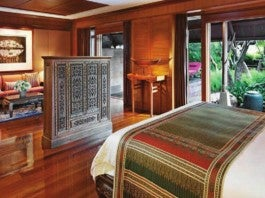 Master Bedroom / The Rama Suite