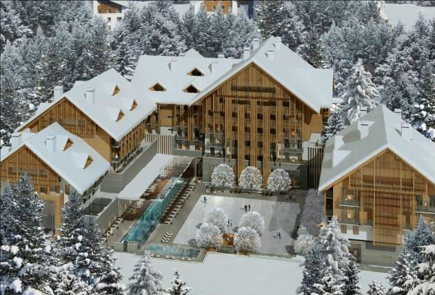 Chalet Chic Luxurious Mountain Hotel Unveiled In The