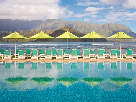 The St. Regis Princeville pool
