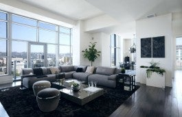 the carlyle living room_