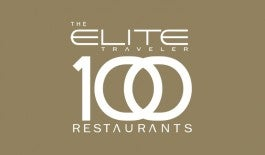 Elite 100 Restaurants 2014