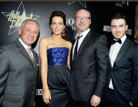 Hollywood Domino And Bovet 1822 Gala Benefiting Artists For Peace And Justice