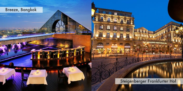 Breeze by lebua to open at steigenberger frankfurter hof for 50 best boutique hotels in the med by the times 2015