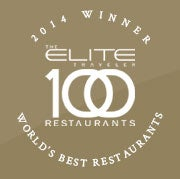 Elite Traveler Top 100 Restaurants Logo