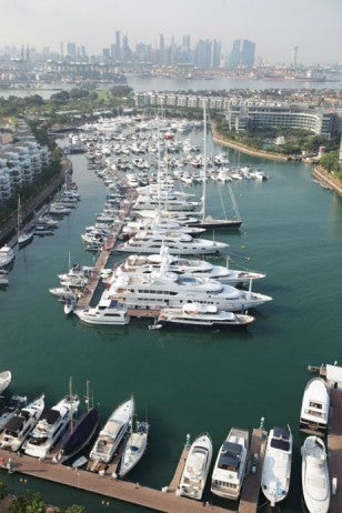 singapore yacht show_