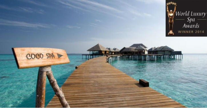 Coco Spa At Coco Bodu Hithi Awarded Best Luxury
