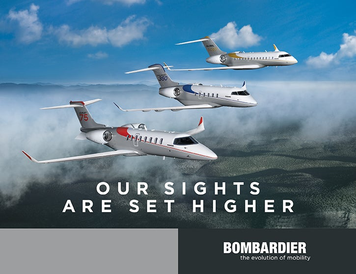 Luxury Business Aircraft From Bombardier Elite Traveler