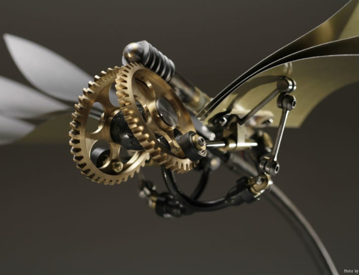 Kinetic Sculptures By Bob Potts At The Mb Amp F M A D Gallery