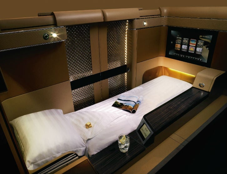 Diamond First Class Bed