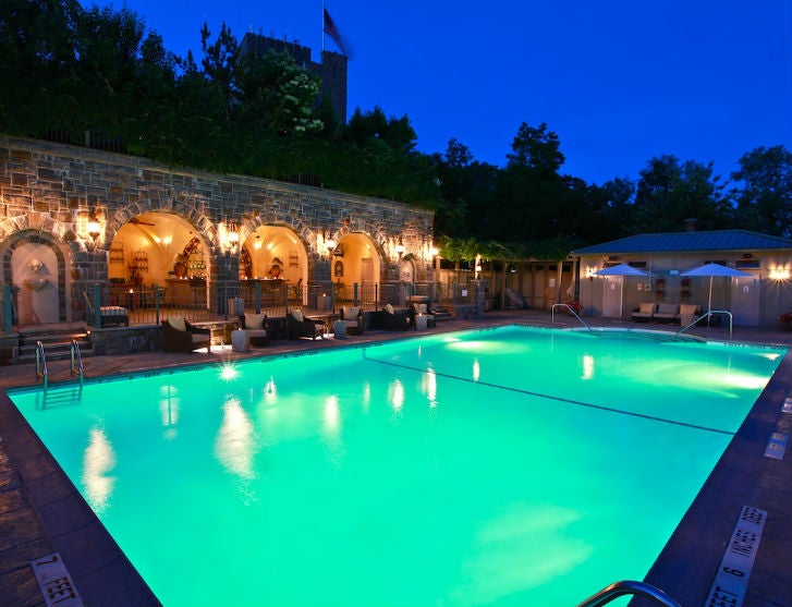 Poolside-Grotto-Castle-Hotel