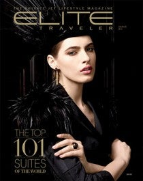 Elite Traveler Top 101 Suites Magazine July 2014