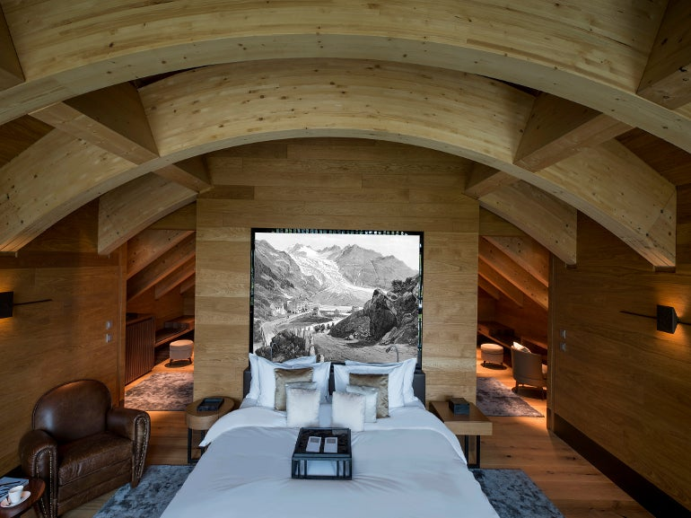 The Furka Suite / The Chedi Andermatt