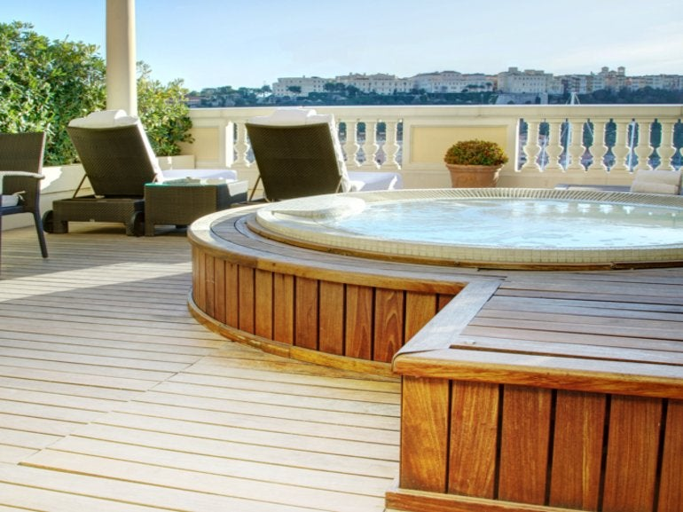 Diamond Suite with Jacuzzi / Hotel Hermitage Monte-Carlo